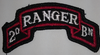 Class A Patch, 2nd Ranger BN