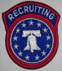 Class A Patch, US Army Recruiting