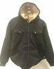 Jacket, Black Hooded