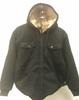 Jacket, Black Hooded