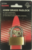 Padlock, 40MM Brass