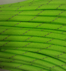 """Paracord, """"Reflective Neon Green"""" 100ft"""