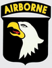 Decal, 101st Airborne Shield