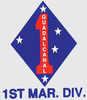 Decal, 1st MAR. DIV.