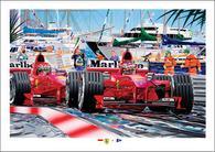 Monaco, Ferrari 1&2