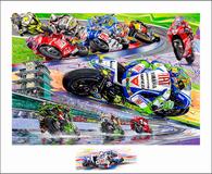 """Indianapolis GP, 2009 """"Barcodes"""""""