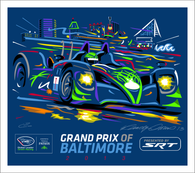 2013 Grand Prix of Baltimore ALMS Collector Giclee