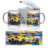 Collector's Mug-LeMans Corvette