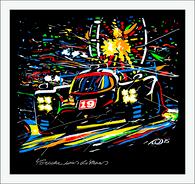Porsche Wins LeMans giclee