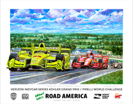 Road America,  2016 - Official Event Poster
