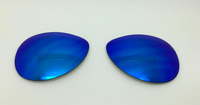 Custom Oakley Feedback Blue Mirror Non-Polarized Lenses (lenses are sold in pairs)