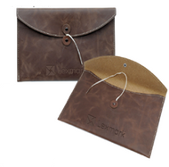 Leather Tie Folio