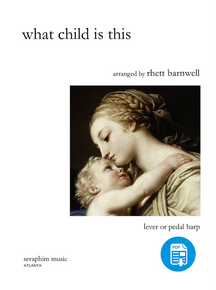 What Child Is This, arr. Rhett Barnwell - PDF
