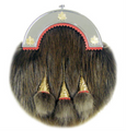 1403-09 Canadian Beaver Sporran with Maple Leaf Cantle
