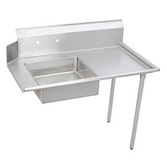 """Dish Table Dirty Right Side, 60"""" with sink."""