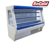 "Refrigerated Deep Low Profile Open Merchandiser 77"""