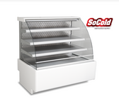 """Refrigerated Open Pastry Display Case 24"""""""