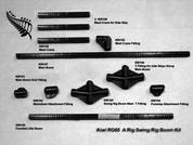 Kiwi RG65 A Rig Swing Rig Boom Kit