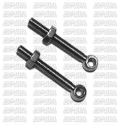 Single pair Stainless Steel Deck Eye 30 mm length  with 3mm Nuts