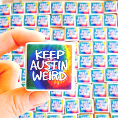Keep Austin Weird - Mini