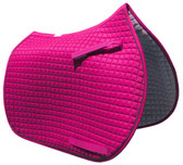 Hot Pink English Saddle Pad