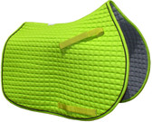 Lime Green Pony Saddle Pad