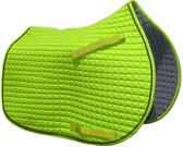 Lime Green Pony Saddle Pad