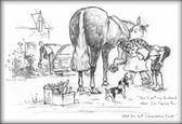 Farrier Horse Card:  Don't Tell My Husband #LB49