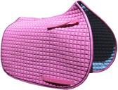 Candyfloss Pink All-Purpose English Saddle Pad