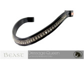 Luminocity Dressage Queen Wave Browband