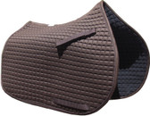 Brown All-Purpose English Saddle Pad