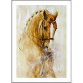 Horse Card: Beautiful Chestnut Dressage Horse # DC25