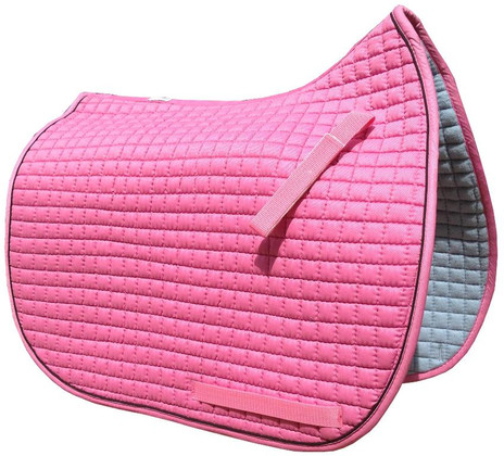 Candy Pink Dressage Saddle Pad