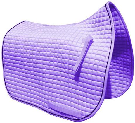Violet   Lilac   Lavender Dressage Saddle Pad.