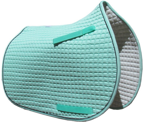 Mint Green All-Purpose English Saddle Pad.
