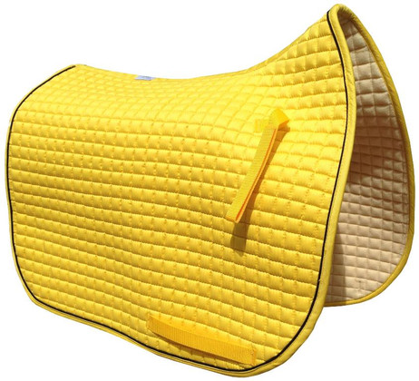 Sunflower Yellow Dressage Saddle Pad