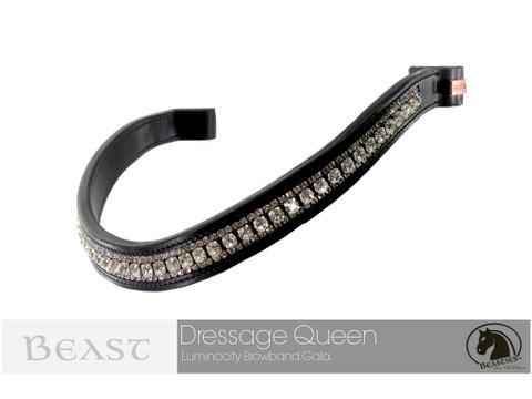 Luminocity Dressage Queen Wave Browband
