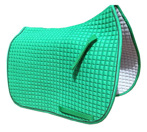 Kelly Green Dressage Saddle Pad