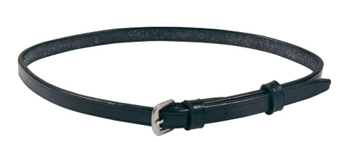 Replacement Flash Strap | Black Leather | Size Full