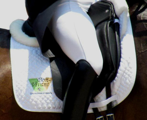 Logo Embroidered Saddle Pads - Corporate Sponsors, Team, Company or Barn Logo