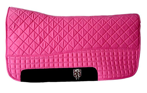Hot Pink Western Saddle Pad