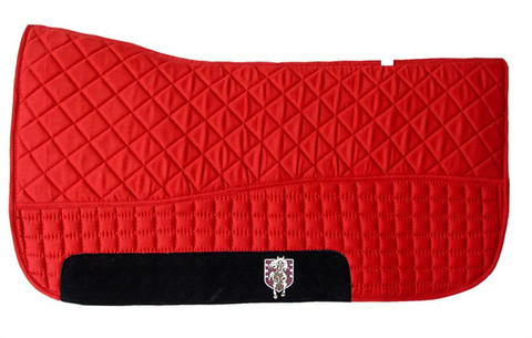 Red Western Saddle Pad