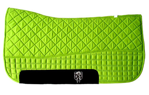 Lime Green Western Saddle Pad