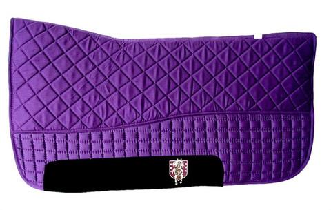 Purple Western Saddle Pad