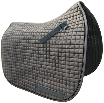 Gray Dressage Saddle Pads