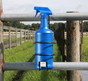 Hang it on a gate.  |  Stall Mate Spray Bottle Caddy | No More Broken Equine Fly Spray Bottles!