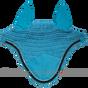 Turquoise / Atlantic Blue Bling Horse Crochet Fly Bonnets