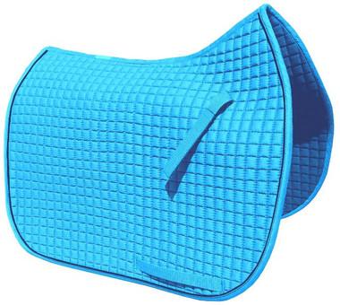 Atlantic Blue / Turquoise Dressage Saddle Pad