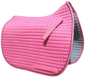 Candy Pink Dressage Saddle Pad