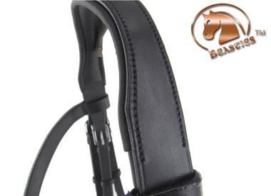 Anatomical Cut-back Comfort Mono-Crown for Mono Crown Bridles.
